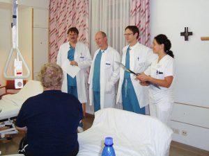 Persönlicher Besuch beim Patienten